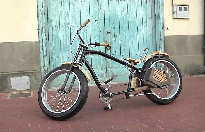 bici electrica custom